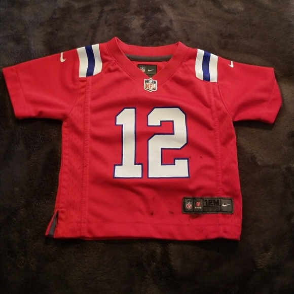 New England Patriots Tom Brady 12 Jersey 12M Nike.  M 5ab2b67f36b9deb30d6c02f5 43a2e776a